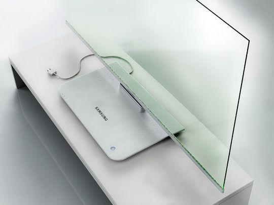 Transparent Television