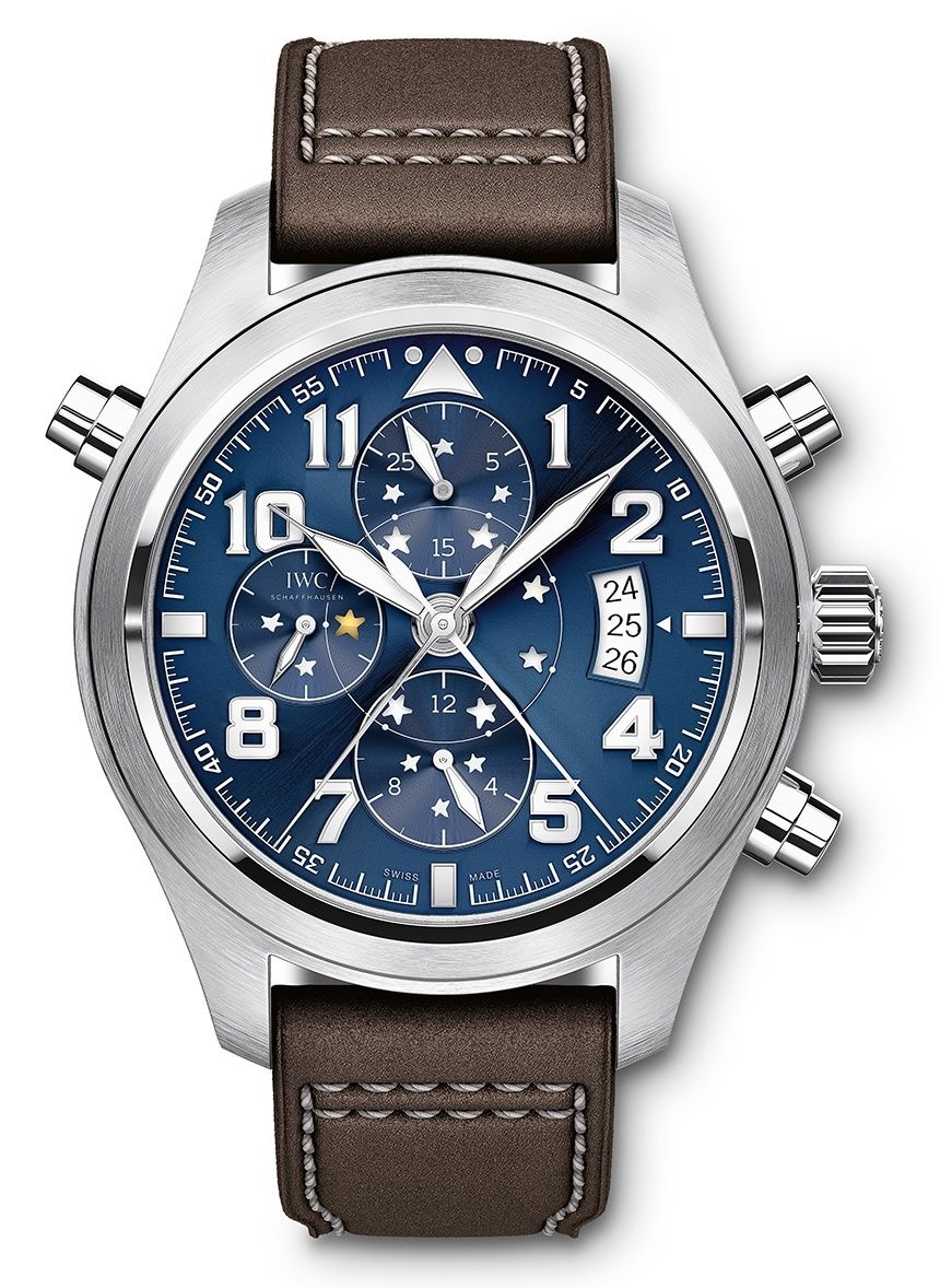 Iwc Pilot S Watch Double Chronograph Edition Le Petit Prince Watch Iwc Watches Pilot Iwc Pilot Iwc Watches