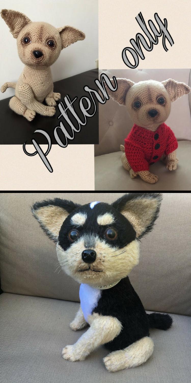 Chihuahua dog crochet pattern PDF + free crochet sweater pattern ...