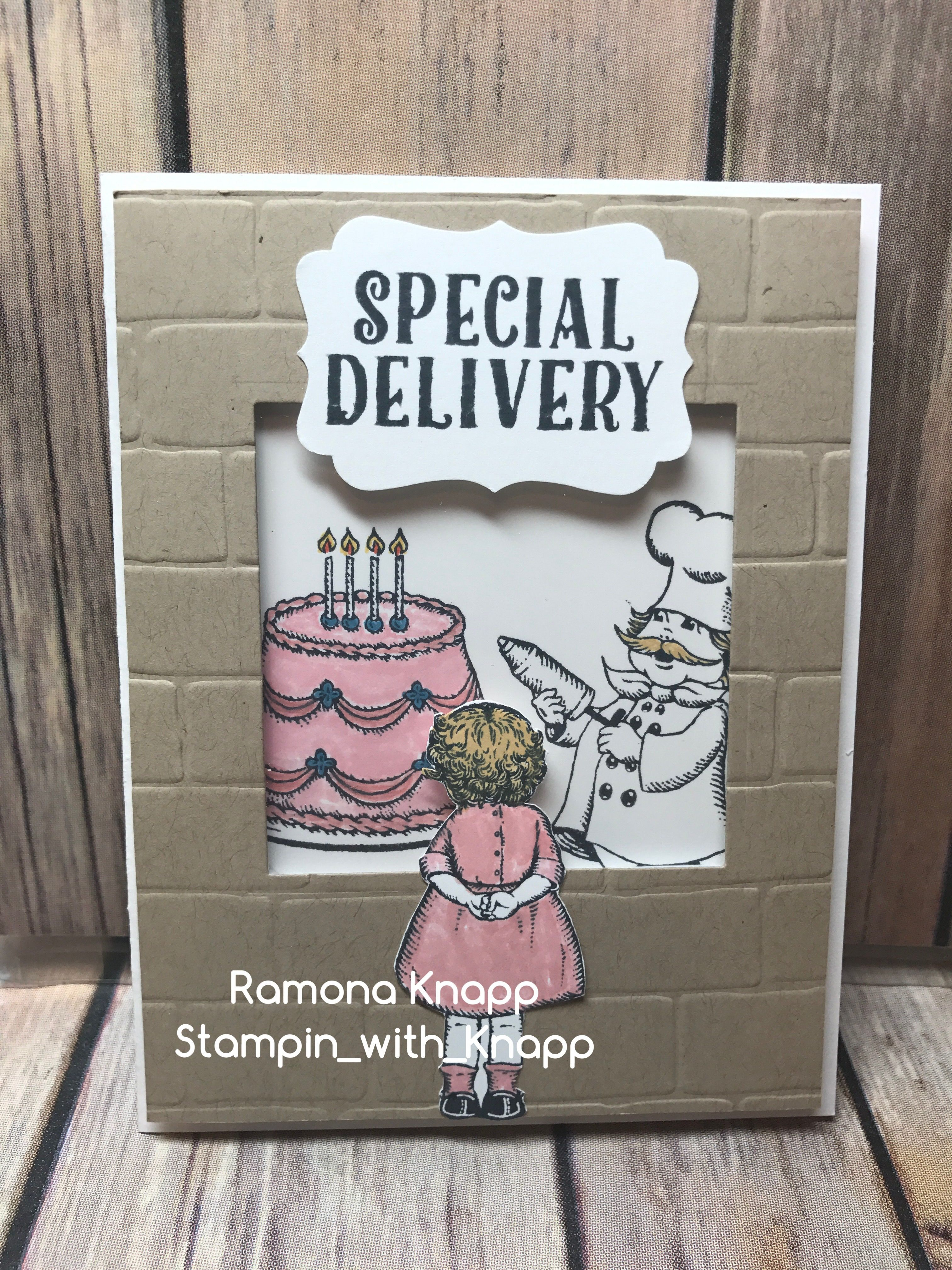 special delivery Cool birthday cards, Birthday cards