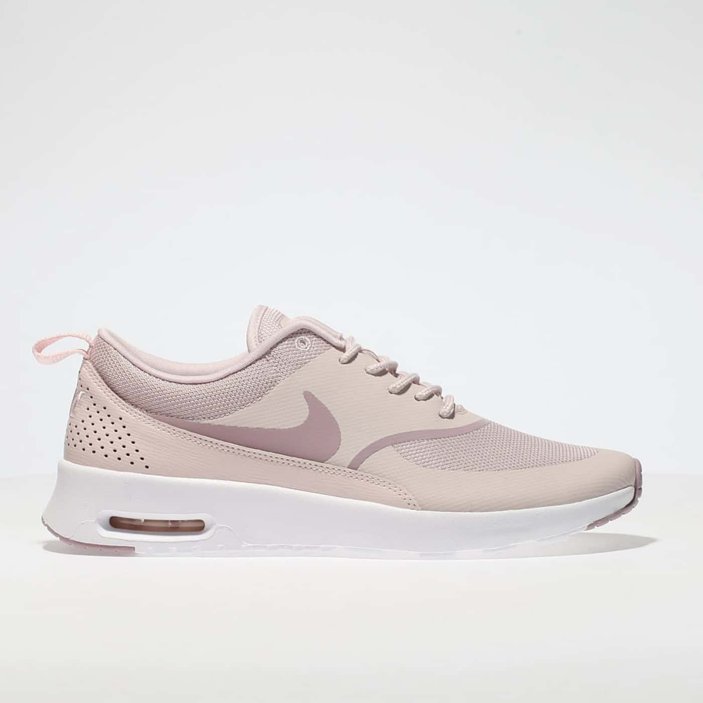 incredible prices best sneakers pretty cheap womens pale pink nike air max thea trainers | schuh ...