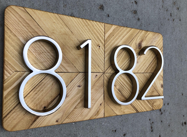 Address Plaque, Number Sign, Address Numbers, Address Sign ...