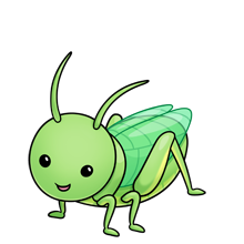 Image result for Grasshopper clipart