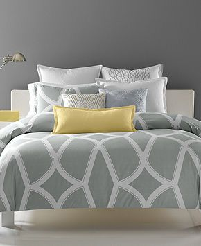 Hotel Collection Modern Lancet Bedding Collections Bed Bath Macy S