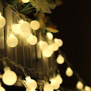 Dealbeta Guirlande Lumineuse Interieur 10M 100 ampoules LED