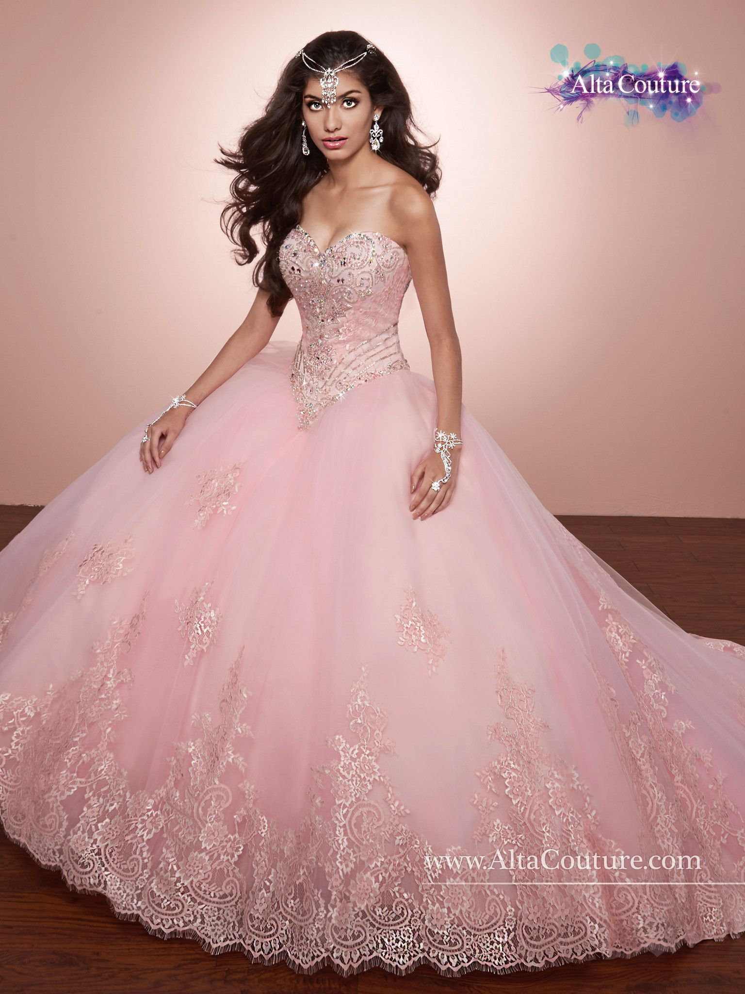 Mary\'s Bridal Alta Couture Quinceanera Dress Style 4T171 | 15 años ...