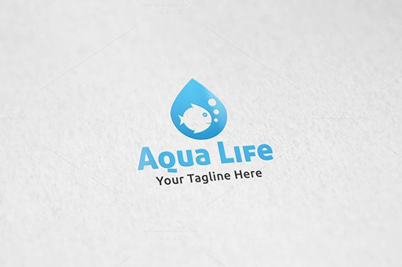 Check out Aquarium - Logo Template by Martin-Jamez on Creative