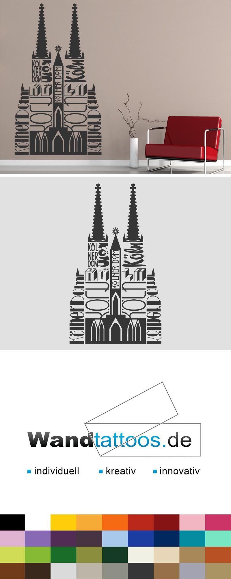 Anspruchsvoll Wandtattoo Köln Ideen Von Kölner Dom Als Idee Zur Individuellen Wandgestaltung.