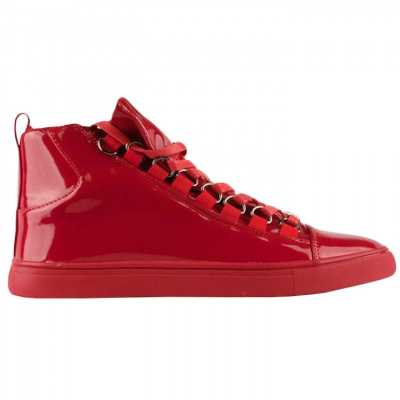 The Macinare Basque Prem Mid Patent Leather Is Now Available On Citygear Com Summer Sneakers Shoes Mens Leather