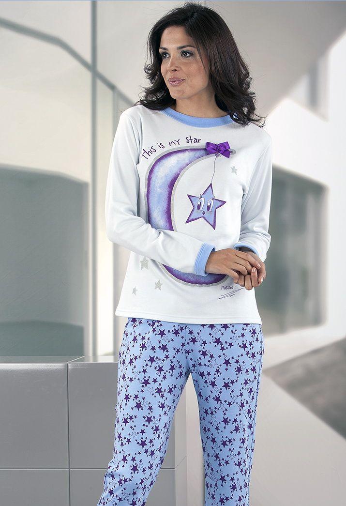 dcafc20c9 Pijama mujer algodón Massana