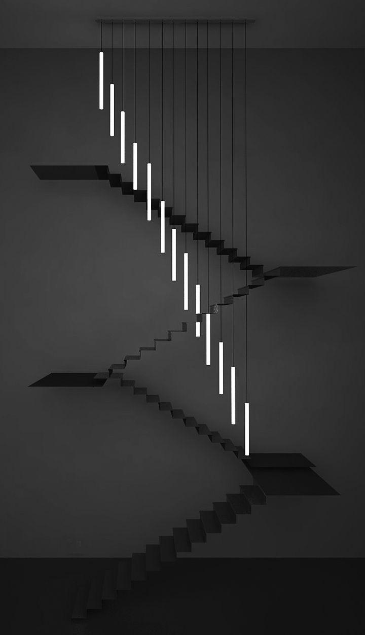 Chiara Ferrari Studio. The question is: stairs or art? #stairs