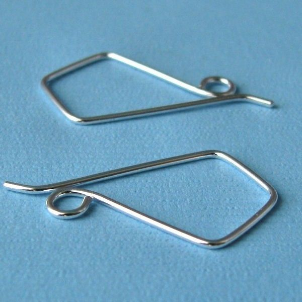 Sterling Silver Ear Wires, Handmade Kite II, Original Signature ...