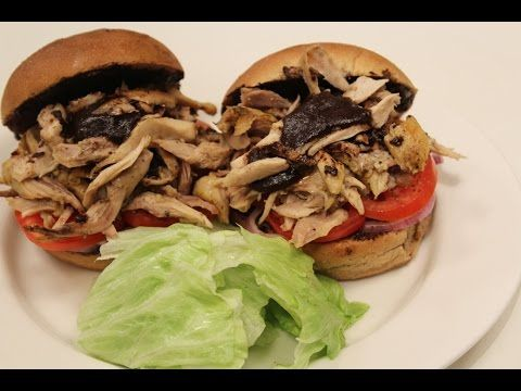 How To Make Pulled Chicken Burger Recipe By Masterchef Sanjeev Kapoor