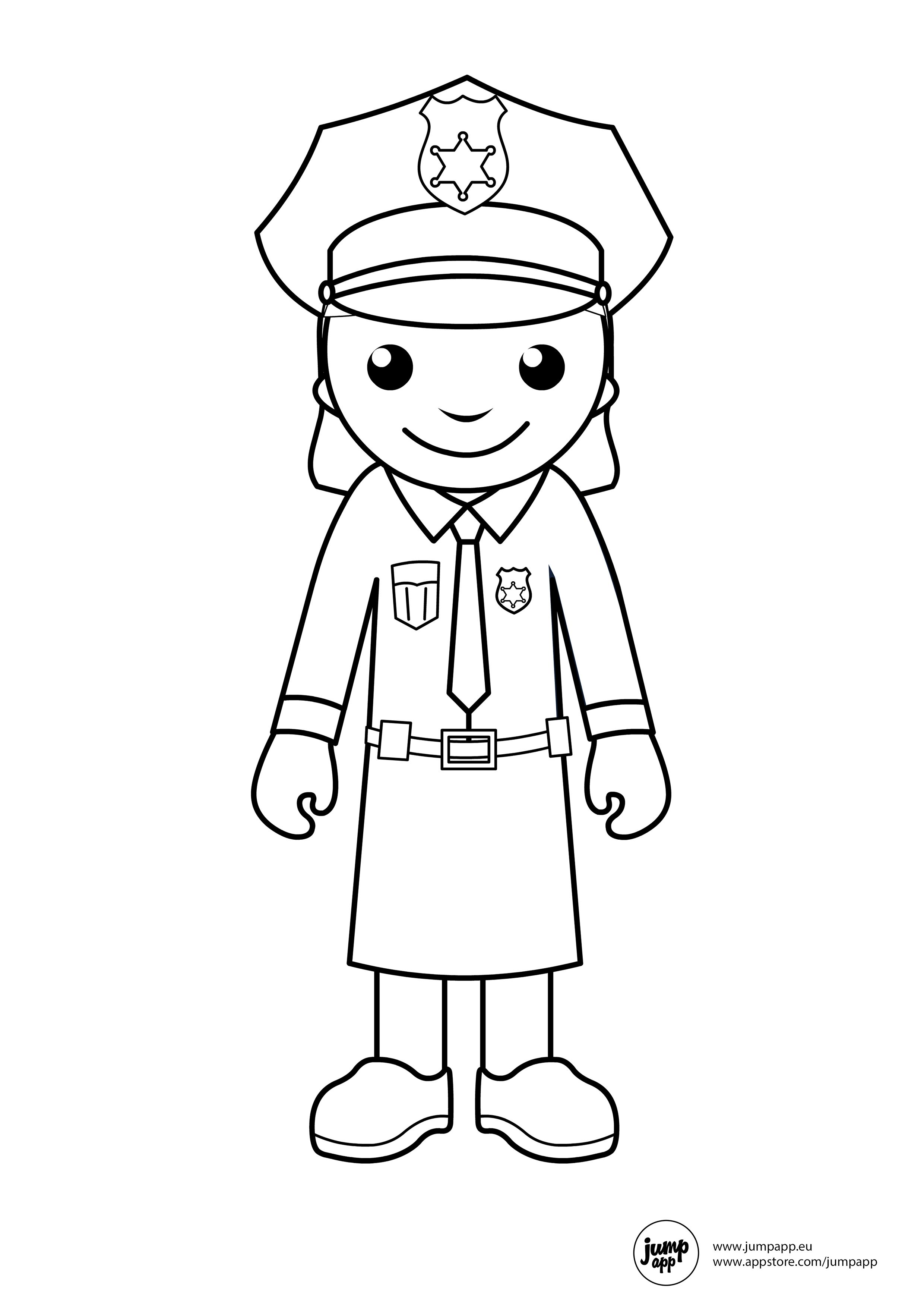 Community Helpers Coloring Pages by Miss P's PreK Pups | TpT | 3508x2480
