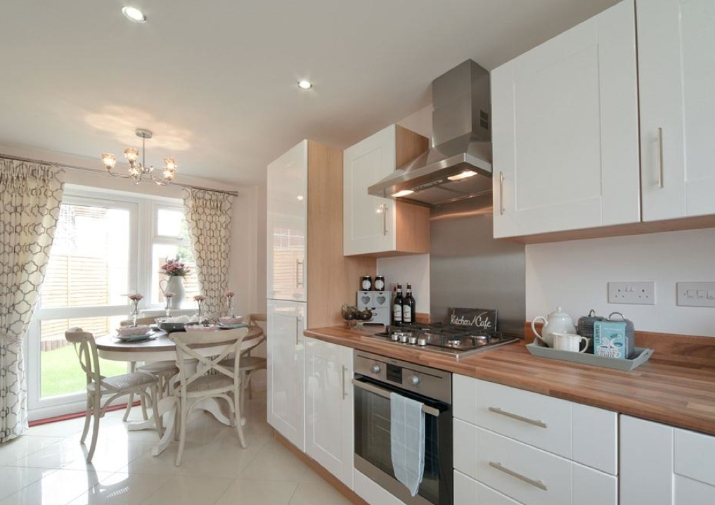 small u shaped kitchen mdfyw taylor wimpey lucet meadow redditch interior designed