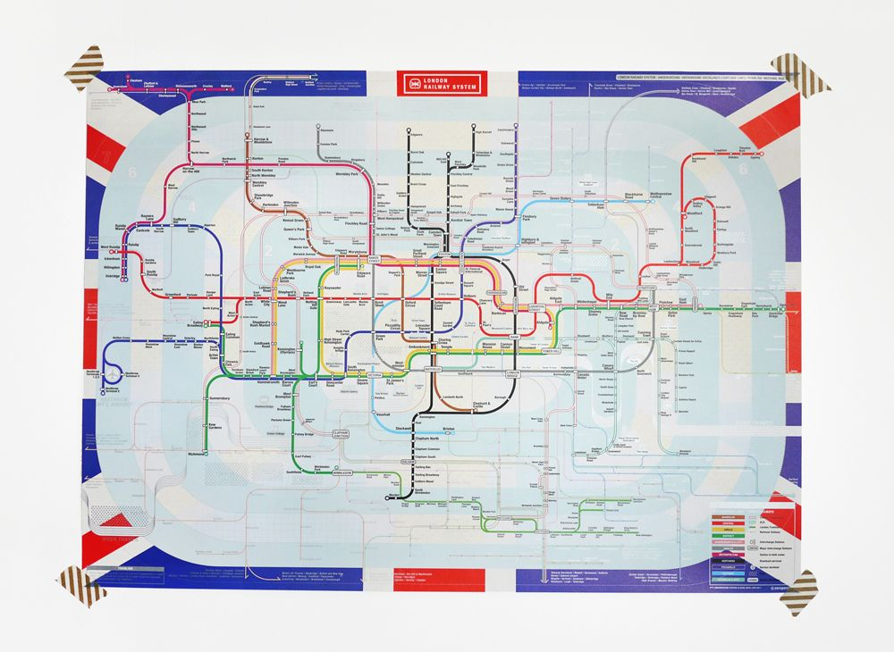London City Map | Pinterest | Underground map, London underground ...