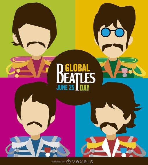 Dibujos Animados De Los Beatles Busqueda De Google In 2020 Beatles Poster Beatles Illustration Beatles Art