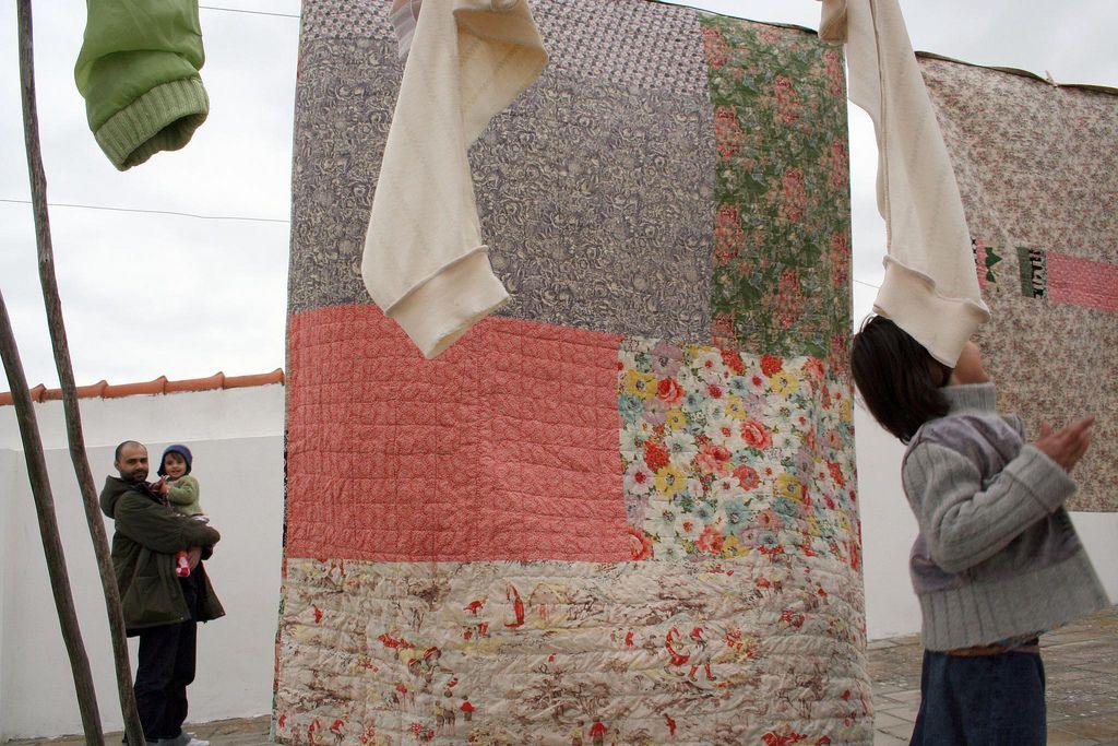 rosa pomar, mantas | quilts