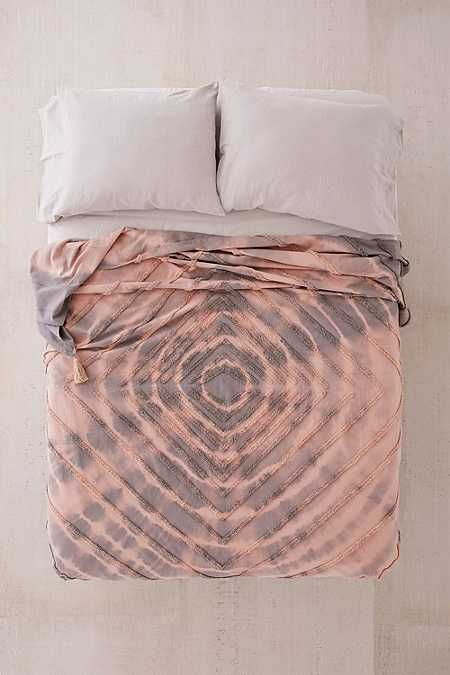 couvre lit tuft discount Couvre lit touffeté teint par nœuds Paz | lit | Pinterest couvre lit tuft discount