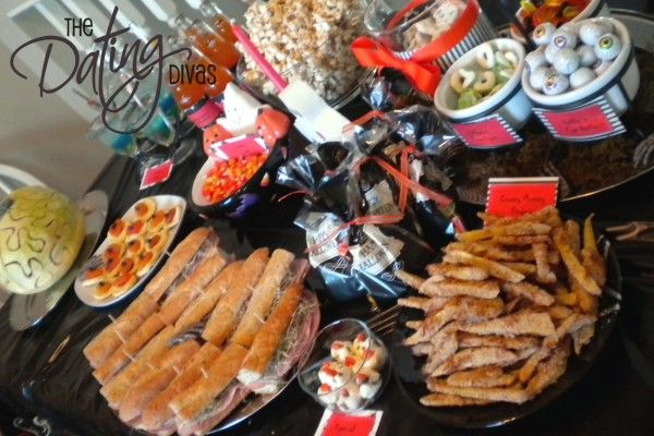 Black and Orange Themed Halloween Party Idea for Families Food for - fun halloween ideas