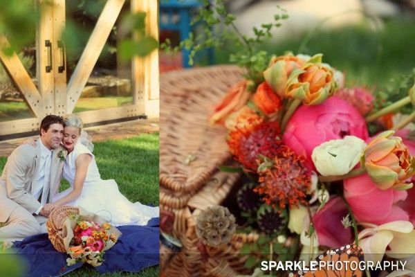 lots of cute ideas for a spring wedding