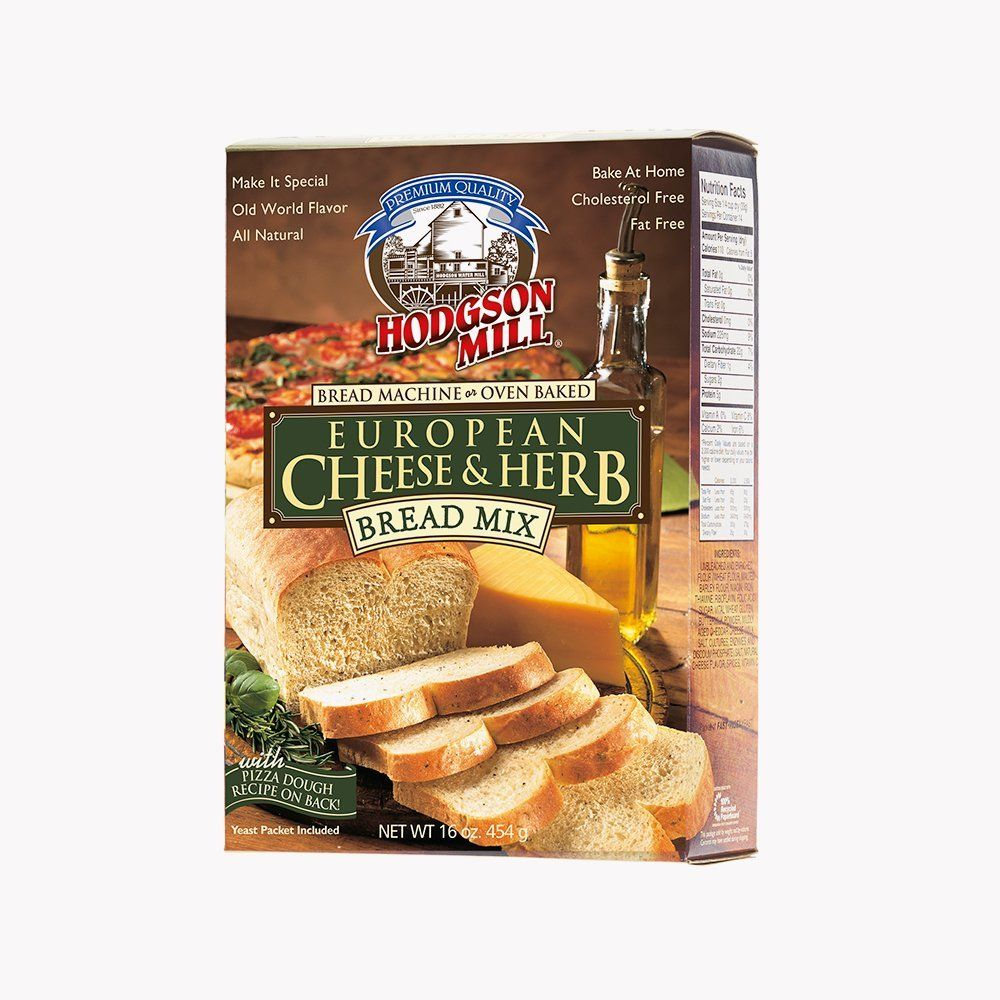 Hodgson Mill European Cheese and Herb Bread Mix, 16-Ounce ...