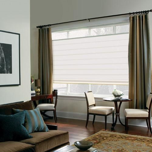 Levolor Roman Shades Blinds Com Blinds For Windows Living Rooms Roman Shades Living Room Window Treatments Living Room