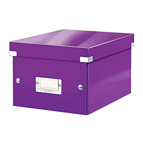 From 15.38 Leitz A5 Storage Box Click And Store Range 60430062 - Small Purple  sc 1 st  Pinterest & Leitz A5 Storage Box Click And Store Range 60430062 - Small Purple ...