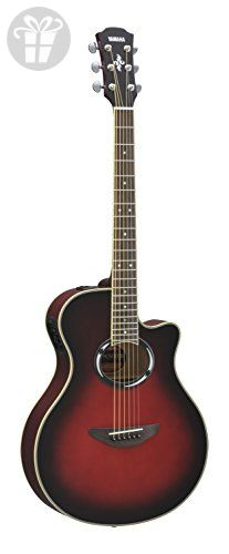 Yamaha APX500III Thinline Cutaway Acoustic-Electric Guitar, Dusk Sun Red (*Amazon Partner-Link)