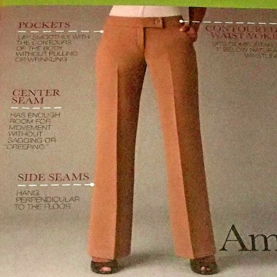 Pants Sewing Pattern Wide Leg Bell Bottom by hookandneedlepattern, $4.00