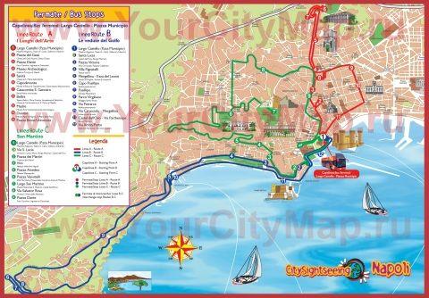 карта неаполя с достопримечательностями на русском языке скачать бесплатно - фото 6