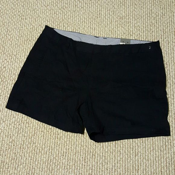 """Size 18W JCP Darkest Sky Shorts NWT These shorts are 16"""" from the waist down. Cute shorts that are perfect when spring comes along. Grab them then for a great price. jcpenney Shorts"""