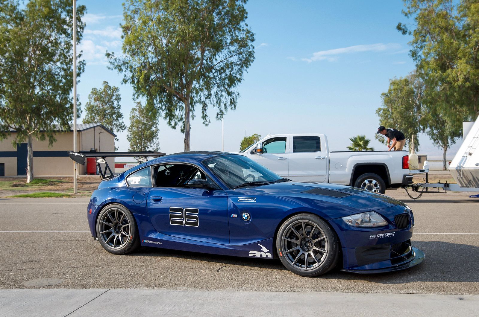 Track Spec Z4m Coupe Ready To Set Some Lap Records With Images