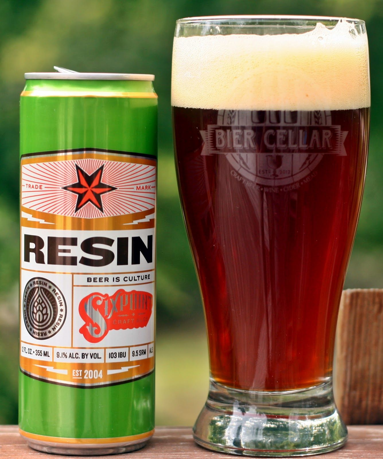 Sixpoint Resin I D Been Carefully Avoiding This Beer As I M Not A Fan Of Super Hopped Brews Too Much Pine Citrus Aroma Or Flav With Images Beer Best Beer Drinking Beer