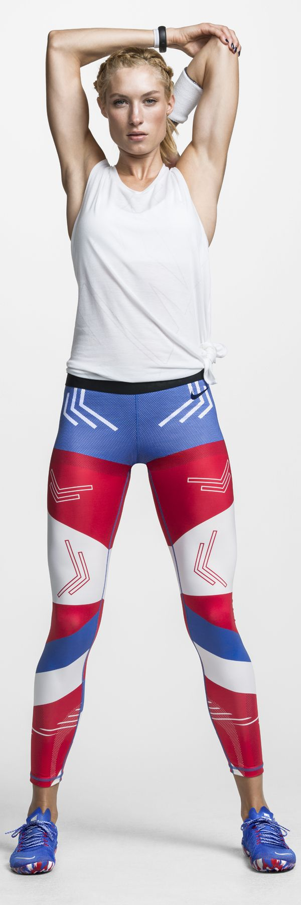 As bold as you are. The Nike Tight of the Moment x USA.