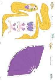 Hasil Gambar Untuk Disney Princess Papercraft Printable