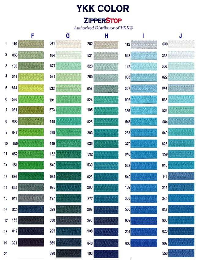 Zipperstop They Have Hundreds Of Custom Zipper Colors Page 2