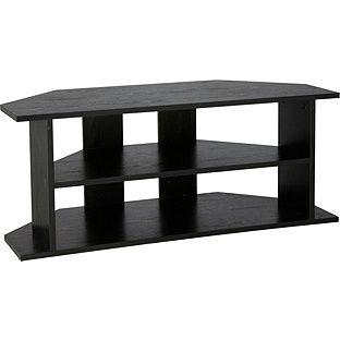 Buy Argos Home Corner TV Unit - Black Effect   TV stands ...