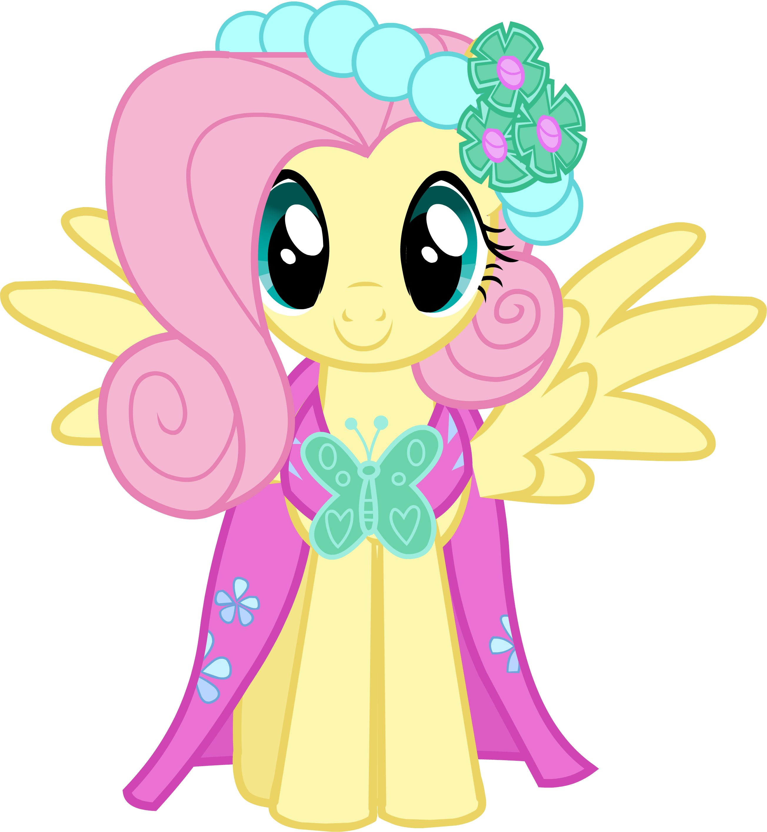 fluttershy bridesmaid dress