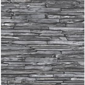 Brewster Wallcovering Charcoal Classic Wallpaper 2701