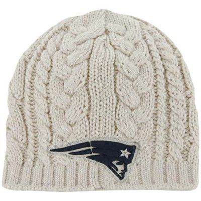47 Brand New England Patriots Ladies Shawnee Knit Hat - White ... a857376ea