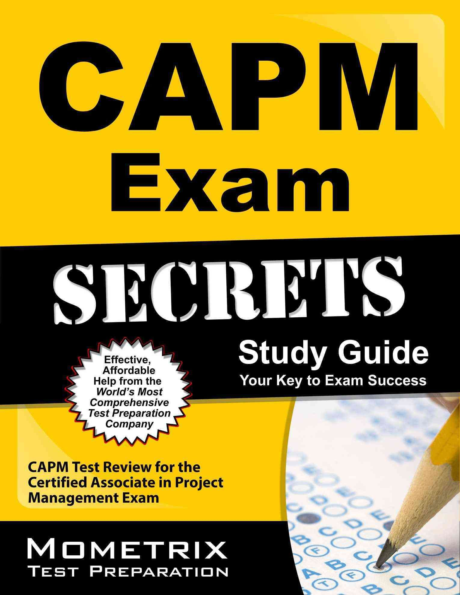 Capm Exam Secrets Capm Test Review For The Certified Associate In