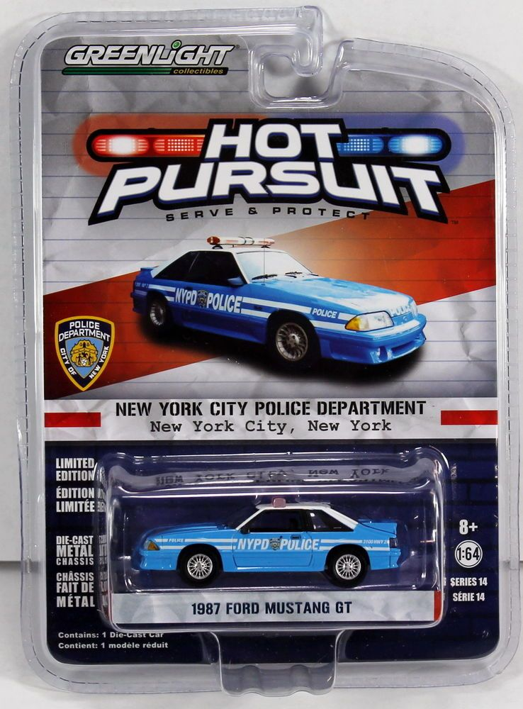 Greenlight Hot Pursuit Series 14 1987 Ford Mustang New