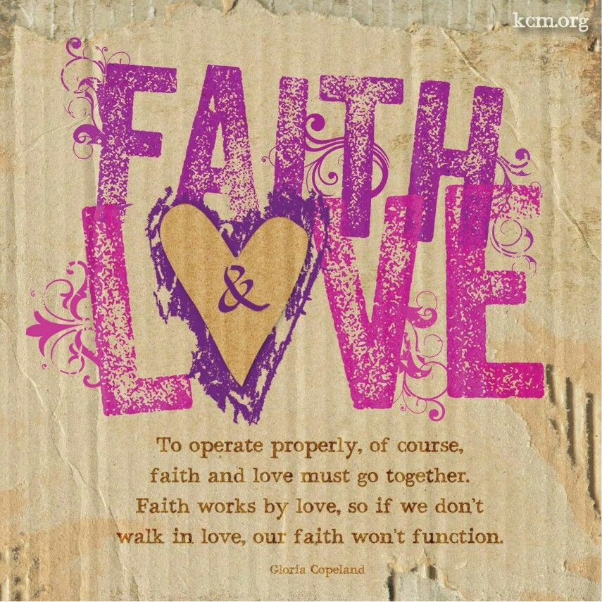 If we dont walk in LOVE our FAITH won't function! #lovewalk