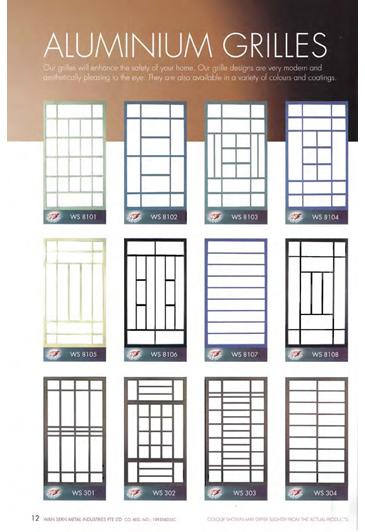 Wan Sern Metal Industries   Window grill design, Grill ...