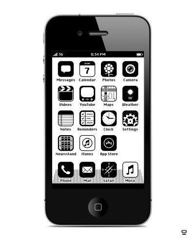 Steampunk Iphone Designed By Anton Repponen Interface De Usuario