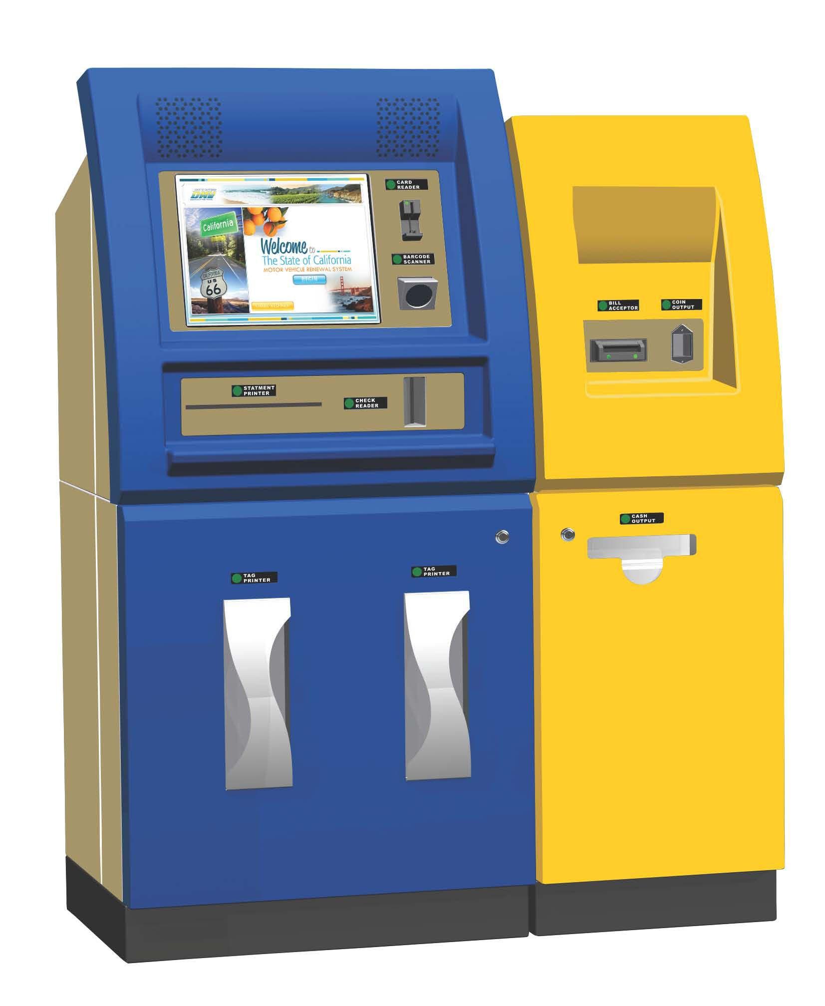 Timesaving Self Service Terminals Installed at more DMV