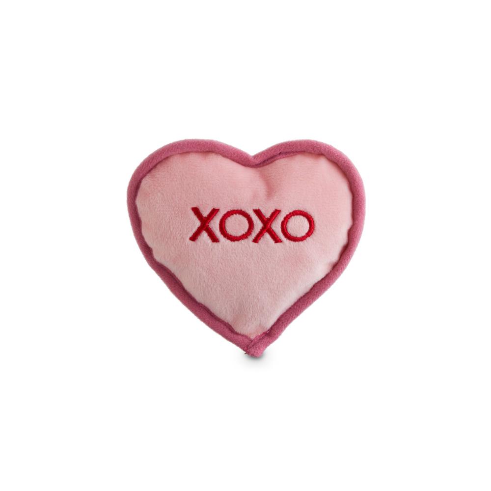 Petco 3 Legged Dog Christmas 2020 Bond & Co. Valentine's Day Sweetheart Plush Dog Toy in Assorted
