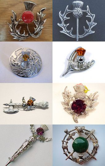 The Scottish Thistle by BeanieMouse on Etsy--Pinned with TreasuryPin.com