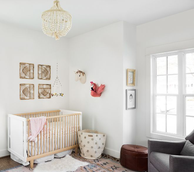 Benjamin Moore White Dove OC-17 Neutral Gender Nursery